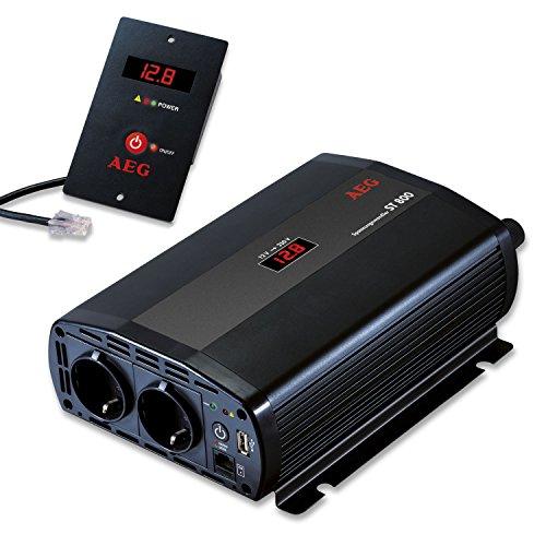 aeg 97116 spannungswandler st 800 watt 12 volt auf 230. Black Bedroom Furniture Sets. Home Design Ideas