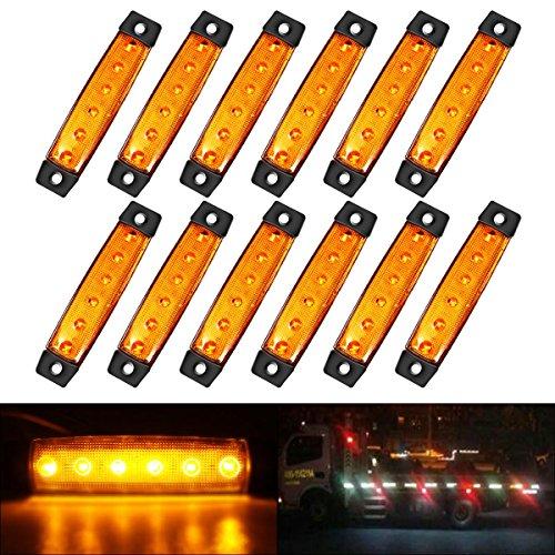 Eyourlife LED Auto Scheinwerfer Offroad Arbeitsscheinwerfer 18W 1800Lumen Spot 2 St/ück
