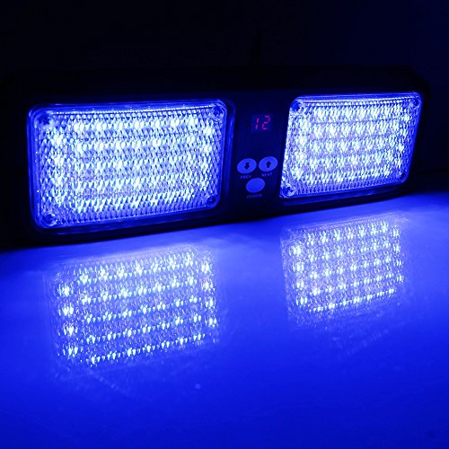 Treu 2 Stücke 11 Cm Split 4led Polizei Led Licht Notfall Gefahren Strobe Lichter Bar Auto Grill Blinkt Warnung Lampe Rot Blau Bernstein Weiß Automobile & Motorräder Autolichter