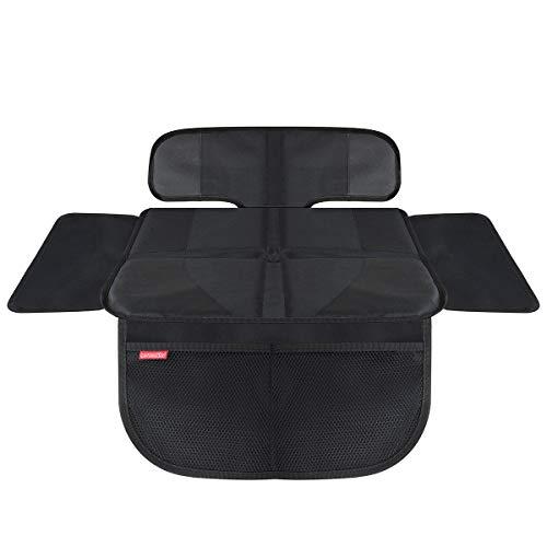 Premium Kindersitzunterlage Isofix Geeignet Kewago Autositzauflage Rip-stop