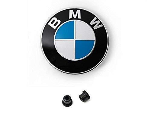 2 Stück BMW Kennzeichen Einsteckmutter BMW E12 E23 E24 E28 E32 E34 E39 E36